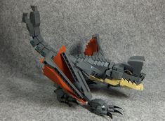 OTACHI from movie Pacific Rim.I is given on the blog for more information and other photos.blog.livedoor.jp/legolego05/archives/52563507.html Arte Robot, Lego Robot, Lego War, Lego Bionicle, Lego Mechs, Lego Dinosaurus, Legos, Deco Lego, Armadura Ninja