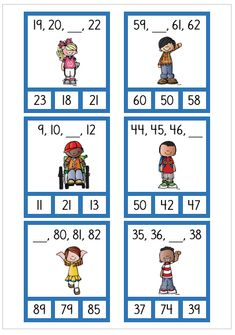 18 kort med talföljdsträning Shape Tracing Worksheets, 1st Grade Math Worksheets, First Grade Activities, Math Tutor, Place Value Worksheets, Math Activities, Printable Worksheets, Subtraction Kindergarten, Preschool Math