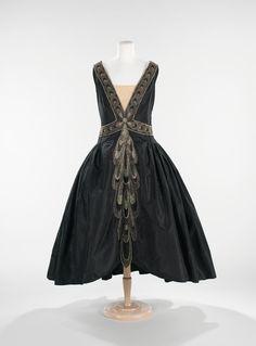 Jeanne Lanvin dress ca. 1926