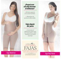 Descubre las ventajas de utilizar una faja durante y después del embarazo. www.fajate.com.co