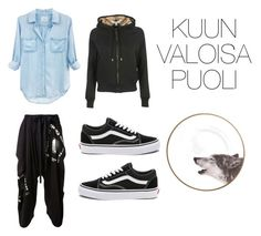 """Selene's casual wear"" by pantsulord on Polyvore featuring Burberry, Rails, STELLA McCARTNEY and Vans"