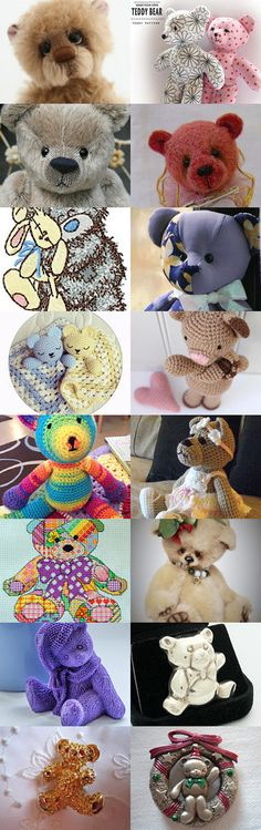 Teddy LUV by Hookin' to the Beat on Etsy (www.facebook.com/hookintothebeat)