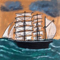 'Stormy Seas' by Sarah Raphael Balme