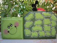 Turtle Patio Person by SunburstOutdoorDecor on Etsy