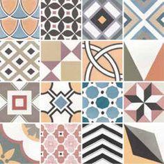 Deco Patchwork Colours