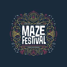 Maze Festival Shirts on Behance