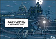 Capitol Quip's Bipartisan Trick and Treat