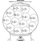 I used these addition worksheets to help my students learn touch point math. The students love the hidden messages and using the coloring key. Addition Worksheets, Math Addition, Math Worksheets, Math Activities, Touch Point Math, Touch Math, Math Classroom, Kindergarten Math, Teaching Math