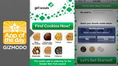 Cookie Finder for iPhone: GET YOUR GIRL SCOUT COOKIES