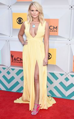 "Miranda Lambert from Best Dressed Stars at the ACM Awards 2016  The ""Little Red Wagon"" singer looks happy as can be in her sunny ensemble."