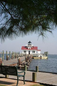 Roanoke Marshes Lighthouse - Roanoke, North Carolina