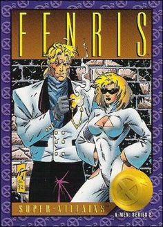 X-Men Series 2 - Fenris # 64 Skybox 1993 Marvel Fan Art, Marvel Heroes, Marvel Comics, Marvel Comic Character, Comic Book Characters, Comic Books, Marvel Comic Universe, Comics Universe, X Men
