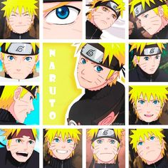 Naruto collage. ;)