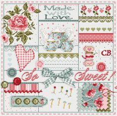 "Madame la fée - ""So Sweet""   195 x 186 points"