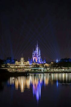Love the view from the boats, the way Cinderella's Castle lights up behind the train station gets me every time!   Disney Disneyworld vacation