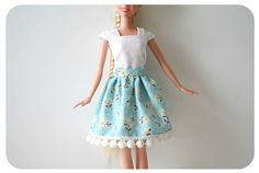 Coats and Clark Sewing Doll Clothes Handmade Charlotte