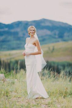 A Breathtaking Mountain Matrimony   OneWed