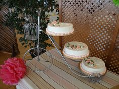 tarta, detalles, decoración, comunión
