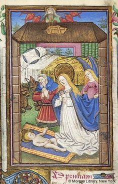 Book of Hours, M.287 fol. 60v - Images from Medieval and Renaissance Manuscripts - The Morgan Library & Museum