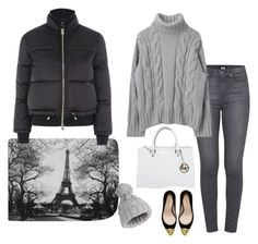 """""""Untitled #456"""" by fashionlover-1995 ❤ liked on Polyvore featuring Paige Denim, WALL, Topshop, Zara, Michael Kors, Miss Selfridge and modern"""