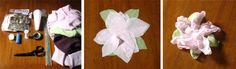 DIY Fabric Wedding Bouquets