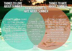 It's a cruel, cruel summer.