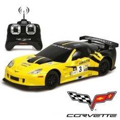 Coche Teledirigido RC Corvette C6.R 1:24