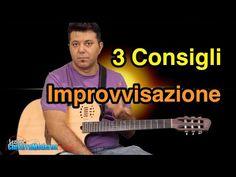 Lezioni Di Chitarra Solista: 3 Consigli Sull'Improvvisazione - YouTube Guitar Notes, 3, Music Instruments, Youtube, Musica, Musical Instruments, Youtubers, Youtube Movies