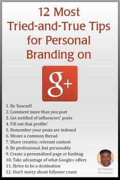 Google Plus Branding