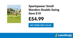 Sportspower Small Wonders Double Swing Save £10, £54.99 at Very.co.uk