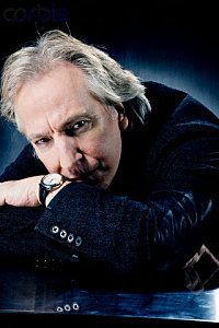 Photo of Alan - photoshoot xD for fans of Alan Rickman.