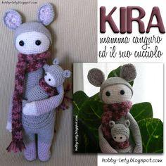 Kira: mamma canguro con piccolo