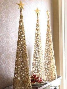 cone christmas trees 2