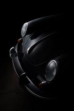Black, my favorite color (FDL technique) on Behance Porsche Autos, Porsche Cars, Porsche 356, 1959 Cadillac, Ferdinand Porsche, Automotive Photography, Car Photography, Classic Photography, Automobile