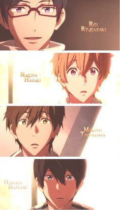 Free! Iwatobi Swim Club.... this anime had sad, happy, and most of the time funny haha