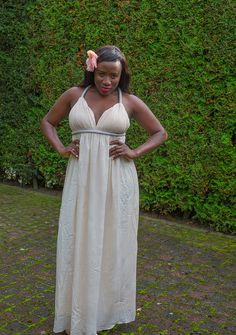 Hi lovely, I hope you like this beautiful dress I am wearing.  I got it from www.nelly.com  You can buy alot of nice items from the online shop! Make up and styling was done by me. I like the cute flower on my head.  Stay beautiful xxx Ekene Patience www.