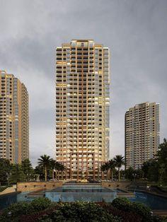 简欧风格高层住宅公寓(29746)效果图下载效果图