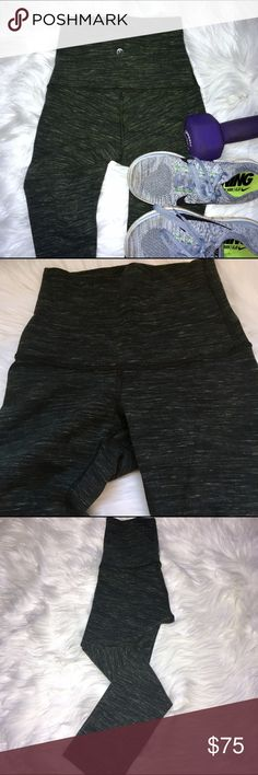 Lululemon Wunder Under Crop- High Rise Brand new Wunder Under crops from Lululemon. These are not the typical nylon spandex Lululemon fabric but a soft, cotton material, much more for yoga or light exercise than for runs or high intensity workouts. Cute army green color. High rise, with a tall waistband that can be folded down (but I suggest leaving it up, so flattering and slimming!)  Never wore these, just didn't have anything to match green to. High quality, perfect condition. Comment if…
