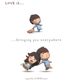 Check out the comic HJ-Story :: Love is. bringing you everywhere Dustin Hj Story, Love Is Comic, Love Cartoon Couple, Cute Couple Comics, Cute Comics, Cute Love Cartoons, Cute Cartoon, Cute Love Stories, Love Story