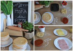Isa's pizzaria – Festa com o tema pizza para receber os amigos ou fazer um aniversário diferente