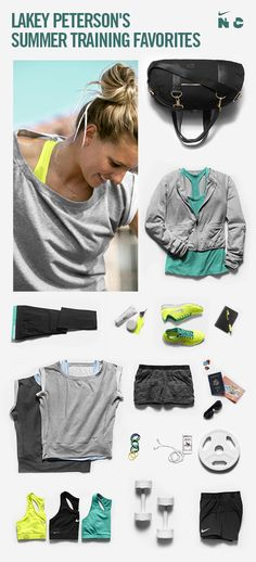 Check out what training essentials Pro Surfer Lakey Peterson is packing this season. #training #nike