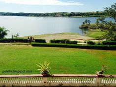 View of the Paoay Lake from the inside of the Malacanang of the North, Ilocos Norte, Philippines Ilocos, Philippines Travel, Travel Abroad, Adventure Travel, Travel Photos, Golf Courses, Places To Visit, Photo And Video, Blog