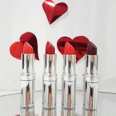 Red Valentine, Seventeen, Make Up, Lipstick, Cosmetics, Instagram Posts, Beauty, Lipsticks, Makeup