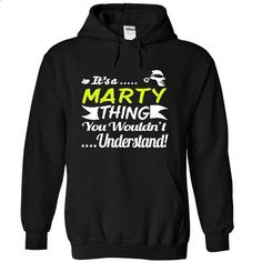 Its a MARTY Thing Wouldnt Understand - T Shirt, Hoodie, - #long hoodie #animal hoodie. I WANT THIS => https://www.sunfrog.com/Names/Its-a-MARTY-Thing-Wouldnt-Understand--T-Shirt-Hoodie-Hoodies-YearName-Birthday-2239-Black-31298935-Hoodie.html?68278