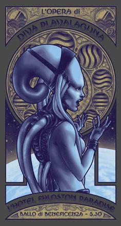 The Fifth Element - 'L'Opera della Diva' by Alyssa May