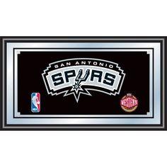 Trademark Games San Antonio Spurs Framed Mirror, Team