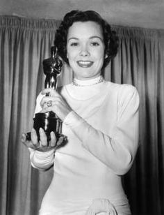 Jane Wyman with her Best Actress Oscar - NBCU Photo Bank via Getty Images