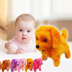 Music Light Cute Robot Dog Electronic Walking Pet Dog Puppy Fun Funny Gadgets Novelty Fun Toys Electronic Pets Kid Gift &w Toy Puppies, Pet Puppy, Cute Puppies, Dogs And Puppies, Pet Toys, Baby Toys, Kids Toys, Electronic Dog Toys, Funny Toys