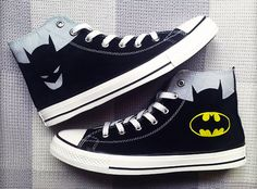 #ConverseShoes I somewhat want these!! <33 - The wolf that kills  Batman Converse