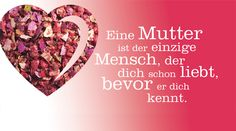 Mutterliebe, Mother's love, Muttertag